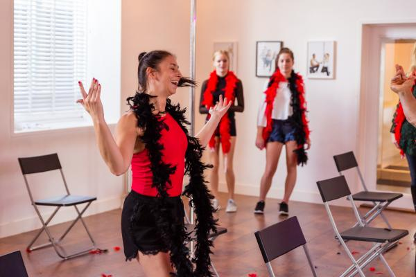 Workshop Burlesque in Haarlem